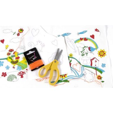 Kit para niños pintar + bordar