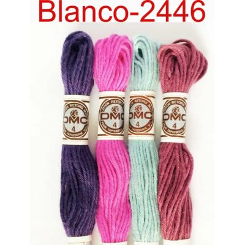 Algodón Retors Dmc para tapicería Blanco-2446