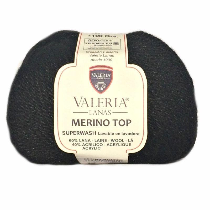 lana Merino Top de Valeria di Roma color 999
