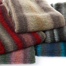 Mantas realizadas con lana Cosy Toes