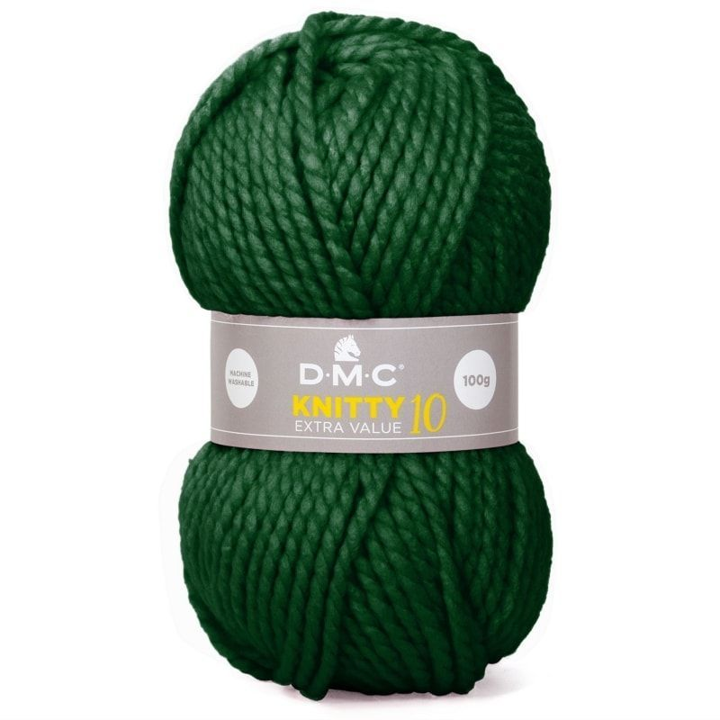 lana Knitty 10 de Dmc color 839