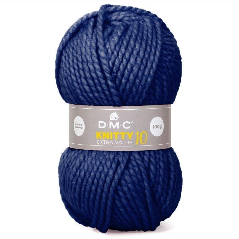 lana Knitty 10 de Dmc color 971