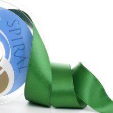 Cinta satén Spirals verde 39 mm