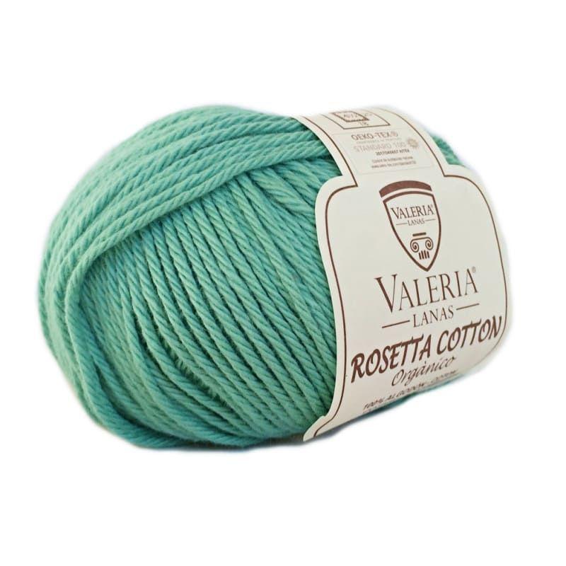 Ovillo de algodón orgánico Rosetta Cotton color 161