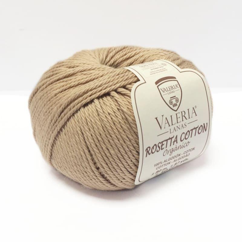 Ovillo de algodón orgánico Rosetta Cotton color 006