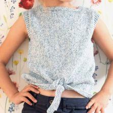 Patrón camiseta niña