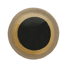 Ojos de seguridad para amigurumis color dorado