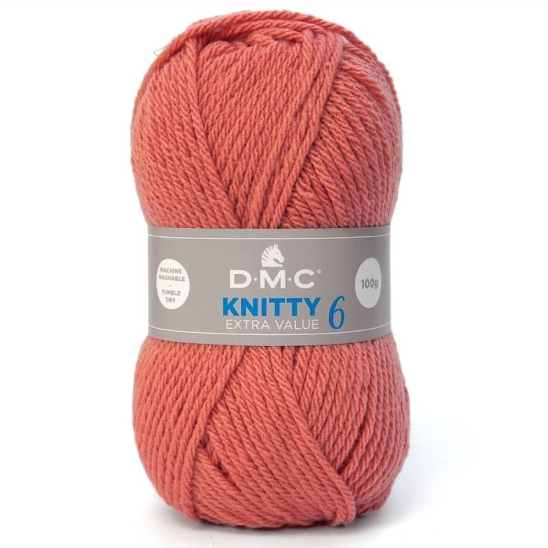 Lana Dmc Knitty 6 color 622