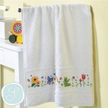 Kit toalla para bordar
