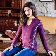 Jersey tejido con lana Capuccino