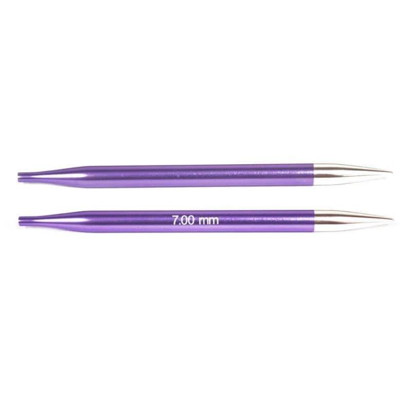 Interchangeable Knit Pro Zing needles 7,00 mm